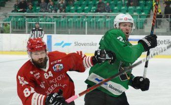 Olimpija Jesenice Andrej Hebar (foto: Luka Zavodnik/Pametni mediji)