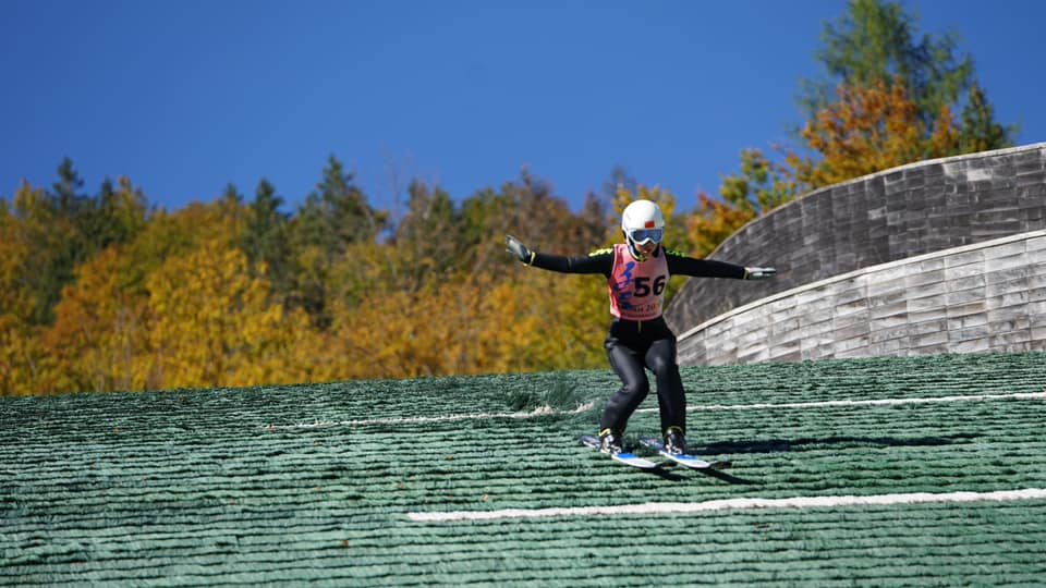 Planica je gostila tudi kitajsko državno prvenstvo v smučarskih skokih (foto: Nordijski center Planica)