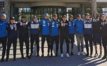 Slovenski skakalci so uživali v Termah Vivat (foto: www.sloski.si)